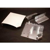 "Wiremold Ds4011-Bz Flat Elbow, Metallic Bronze, 7""L - Pkg Qty 5"