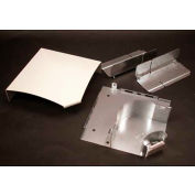 "Wiremold Ds4011-Dg Flat Elbow, Designer Gray, 7""L - Pkg Qty 5"