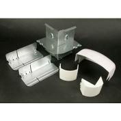 "Wiremold DS4018-DV External Elbow, Designer Ivory, 3-1/2""L"