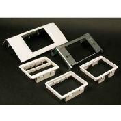 "Wiremold Ds4047mab-Bk Single Channel Mab Device, Matte Black, 6""L - Pkg Qty 10"