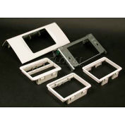 "Wiremold Ds4047mab-Bz Single Channel Mab Device, Metallic Bronze, 6""L - Pkg Qty 10"