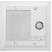 Legrand® F7596-WH Intercom Door Unit, Weather Resistant, White
