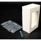 "Wiremold G2048 Switch & Receptacle Box, 1-Gang, 125V, 15A, 4-5/8""L"