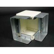 Wiremold G6017tx Combination Internal/External Elbow, Gray - Pkg Qty 5