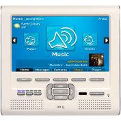 """Legrand® HA5009-LA 7"""" LCD Console with Standard lyriQ, Light Almond"""