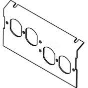 Wiremold P8104-2dp Floor Box Ac8104 Plate (2) Duplex Devices Kos - Pkg Qty 10