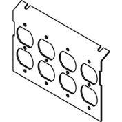 Wiremold P8850-4dp Floor Box Ac8850 Plate (4) Duplex Devices Kos - Pkg Qty 10