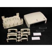 "Wiremold Pdb4tjfw Four Tracjack Data Box, Fog White, 3-3/4""L - Pkg Qty 5"