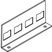 Wiremold Rfb-4tko-Ss Floor Box Communication Plate W/4rj Ko'S - Pkg Qty 10