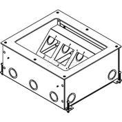 Wiremold RFB11-OG Floor Box 11-Gang On Grade Recessed Floor Box