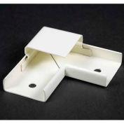 "Wiremold V2011 90° Flat Elbow, 125V, 15A, 2-1/2""L"