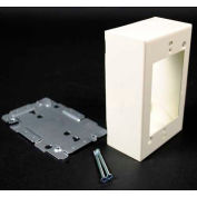 "Wiremold V2048 Switch & Receptacle Box, 1-Gang, 125V, 15A, 4-5/8""L"
