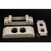 "Wiremold V2407-2cm Cm Series 106 Frame Device Bracket, 6""L - Pkg Qty 5"