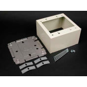 "Wiremold V2444-2 2 Gang Extra Deep Device Box, 4-3/4""L - Pkg Qty 10"
