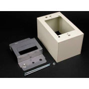 "Wiremold V2444d 1-Gang Over Rcwy Device Box, 4-5/8""L - Pkg Qty 10"