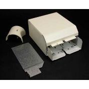 "Wiremold V4010dfo Fiberready Entrance End Fitting W/Divider, Radius Insert, Ivory, 6-1/2""L - Pkg Qty 5"