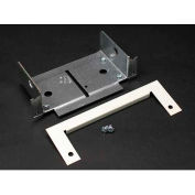 """Wiremold V4086a Panel Connector, Ivory, 5-5/32""""L - Pkg Qty 10"""