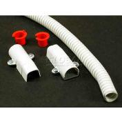 "Wiremold V5700f Flexible Section, Ivory, 18""L - Pkg Qty 10"