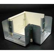 "Wiremold V6012tx 45° Internal / External Elbow, Ivory, 4-1/2""L - Pkg Qty 10"