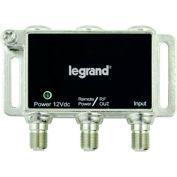 Legrand® VM1100 Single-port RF Digital Cable Amplifier w/ Mounting Bracket