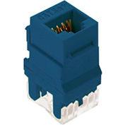 Legrand® WP3450-BE RJ45 Cat 5e Keystone Connector, Blue (M20) - Pkg Qty 20