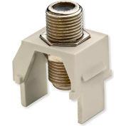 Legrand® WP3479-LA Non-Recessed Nickel F-Connector, Light Almond (M20) - Pkg Qty 20