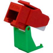 Legrand® WP3550-RE Snap & Go Cat 5e RJ45 T568-A/B Keystone Connector, Red (M20) - Pkg Qty 20