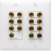 Legrand® WP9009-WH-V1 7.1 Home Theater Connection Kit, White