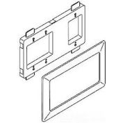 """Wiremold Wsa00-4 Open Architecture Device Mounting Bracket & Trim Ring, Ivory, 11-1/4""""L - Pkg Qty 4"""