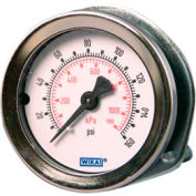"2"" Type 111.16 100PSI/KPA Gauge - 1/4"" NPT CBM with U-Clamp Plastic"