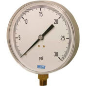 """4.5"""" Type 111.25CT 300PSI Gauge - 1/4"""" NPT LM Stainless Steel"""