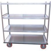 Winholt® 3 Shelf Aluminum Banquet Truck BNQT-3