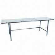 "Winholt Equipment DPTR-2460 24""W x 60""L Work Table with Poly Top"