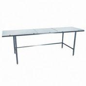 "Winholt Equipment DPTR-3684 Work Table - Poly Top 84""W x 36""D"