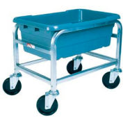 "Winholt Mobile Stainless Steel Lug Cart SS-L-1 Capacity 1 Lug, 25""L x 16""W x 19""H, No Lugs"