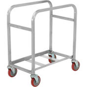 "Winholt Mobile Stainless Steel Lug Cart SS-L-2 Capacity 2 Lug, 25""L x 16""W x 33""H"