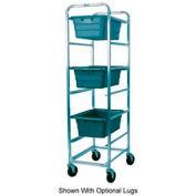 Winholt Mobile Stainless Steel Lug Cart SS-L-6 Capacity 6 Lug, No Lugs
