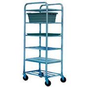 "Winholt Aluminum Universal Cart UNAL-8  8 Shelves, 27""L x 21""W x 67""H, No Lugs"
