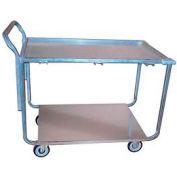 Winholt® Galvanized Steel Wet Produce Cart WPT-2340 600 Lb. Cap.