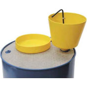 """Wirthco Funnel King® 8 Qt. E-Z Smart Drum Funnel 32015 with 2"""" Threads"""