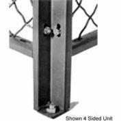 Husky Rack & Wire Angle Corner Post 8' Tall