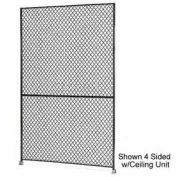 "Husky Rack & Wire 1-1/2"" Wire Mesh Panel 1' Wide x 7' Tall"