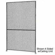 "Husky Rack & Wire 1-1/2"" Wire Mesh Panel 2' Wide x 7' Tall"