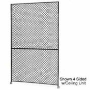 "Husky Rack & Wire 1-1/2"" Wire Mesh Panel 2' Wide x 10' Tall"