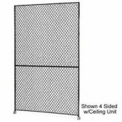 "Husky Rack & Wire 1-1/2"" Wire Mesh Panel 3' Wide x 8' Tall"