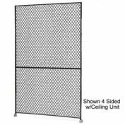 "Husky Rack & Wire 1-1/2"" Wire Mesh Panel 4' Wide x 7' Tall"