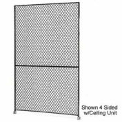 "Husky Rack & Wire 1-1/2"" Wire Mesh Panel 5' Wide x 8' Tall"