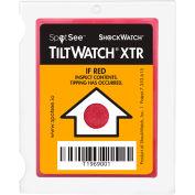 SpotSee™ TiltWatch® XTR Tilt Indicator with Anti Vibration Mechanism, Box of 100