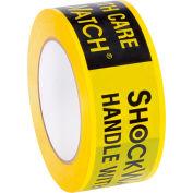 "SpotSee™ ShockWatch® 2 Mil Alert Tape, 3960""L x 2""W, Yellow and Black, 1 Roll"