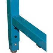 """Wsi Leg Extender Pb Lxt-B, Pb Series, 30""""-36"""", Blue Epoxy - Pkg Qty 4"""